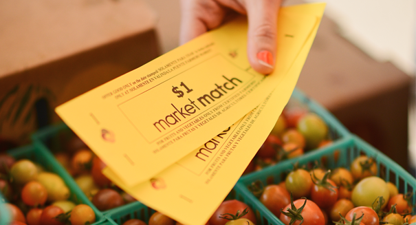 Apply now to offer Market Match incentives at your farmers' market in 2018!