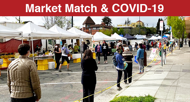 Many Farmers' Markets are open and accepting CalFresh EBT and offering Market Match.